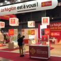 JFB anime l'inauguration de la FIM et l'espace de la Région Occitanie - Montpellier - 11 au 20/10/19