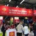 JFB anime le stand de la Région Occitanie du Salon Régal au Parc des Expos de Toulouse - 16-17/12/17